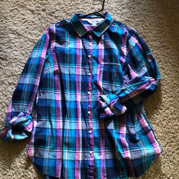 """Old Navy Tops - Button down """"The Classic Shirt"""" from Old Navy"""